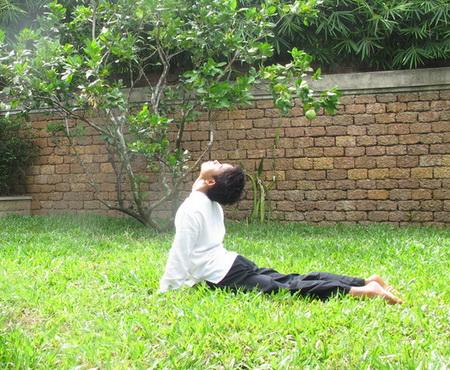 Yoga chào buổi sáng
